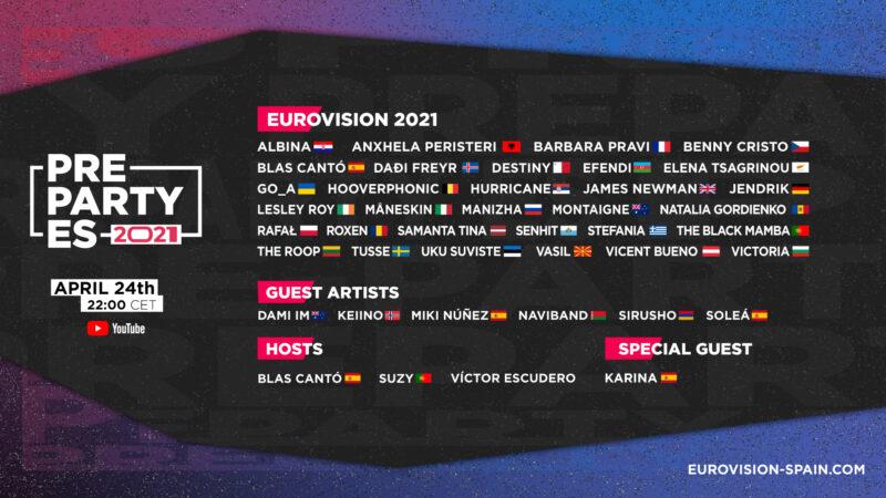 Spain: Tonight PrePartyES 2021 takes place online