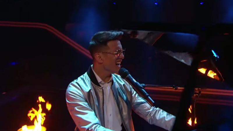 "Austria: Vincent Bueno performs first live his ESC 2021 entry ""Amen"""
