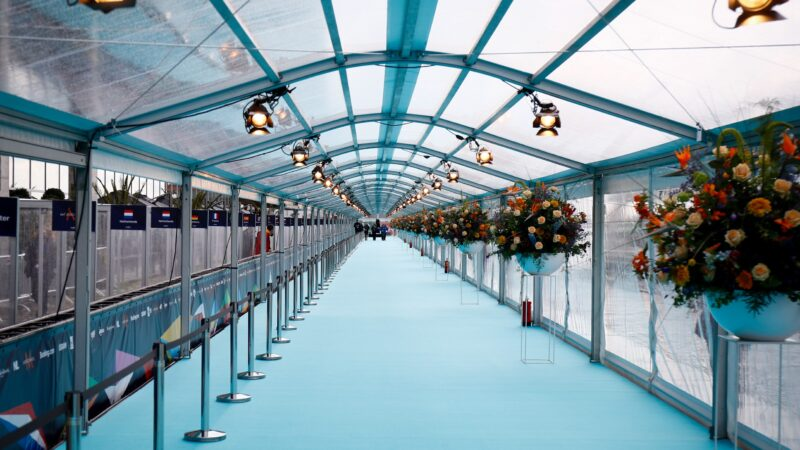 Eurovision 2021: Watch Live from Rotterdam The Turquoise Carpet